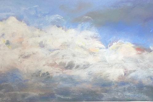 Skyscape pastel