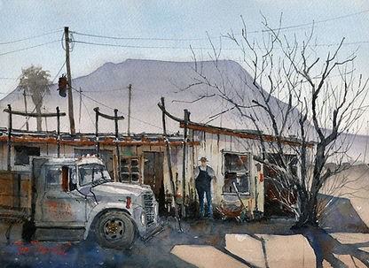 Terlingua-Shade-10x14-watercolor-Tim-Oli