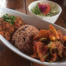 玄米野菜カレー
