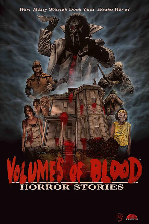 Volumes of Blood: Horror Stories DVD