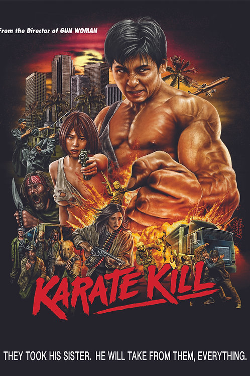 Karate Kill DVD