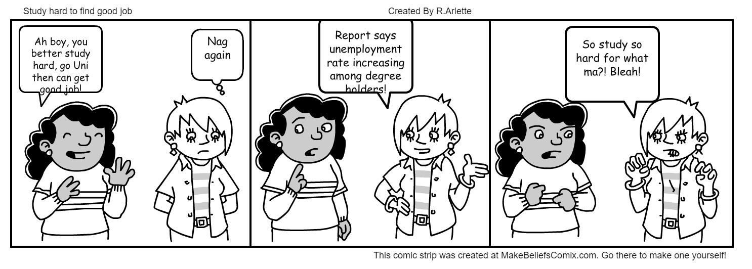 so hard to get a job