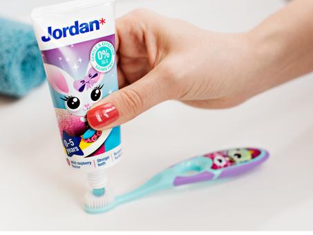 Novas Pastas de Dentes Jordan!