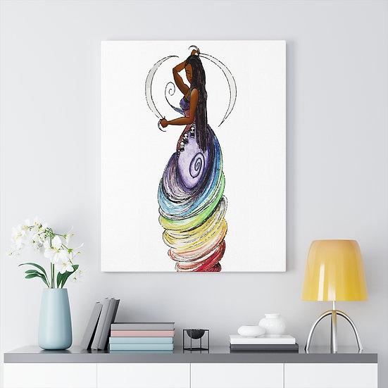 Oya Meditation Canvas