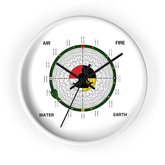 House of Expansion Wall clock