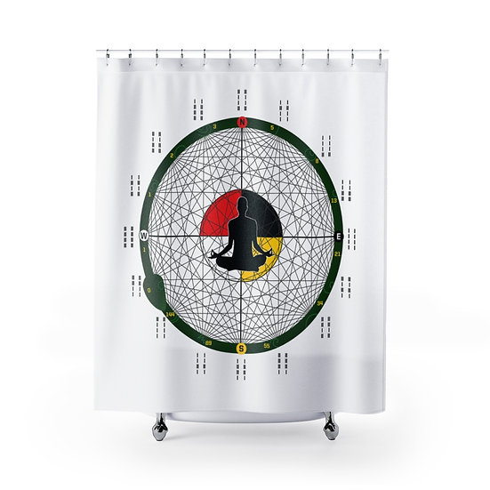 House of Expansion Shower Curtains