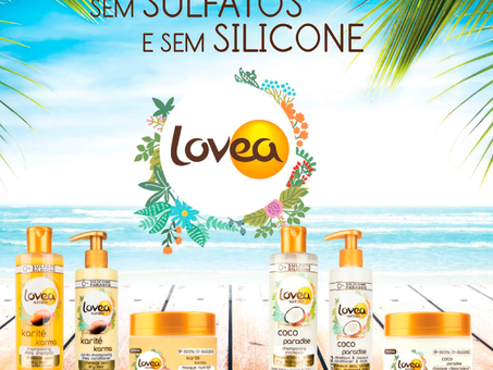 Gama Natural para Cabelos by LOVEA chegou!