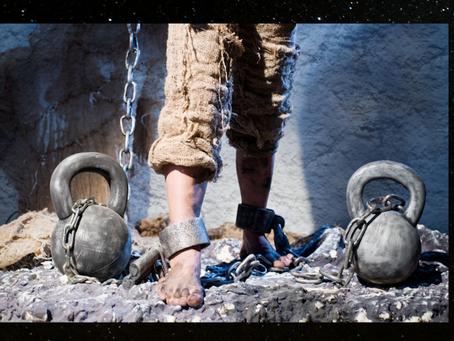 The Human Soul: The Innocent Prisoner in Shackles