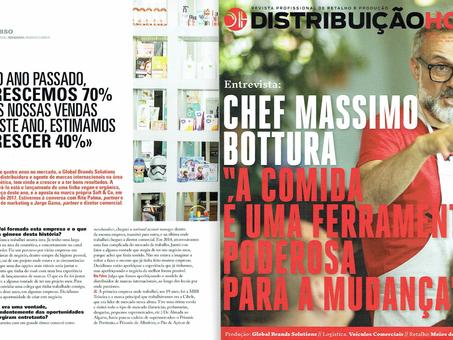 Grande Reportagem GBSO: Revista DISTRIBUIÇÃO HOJE