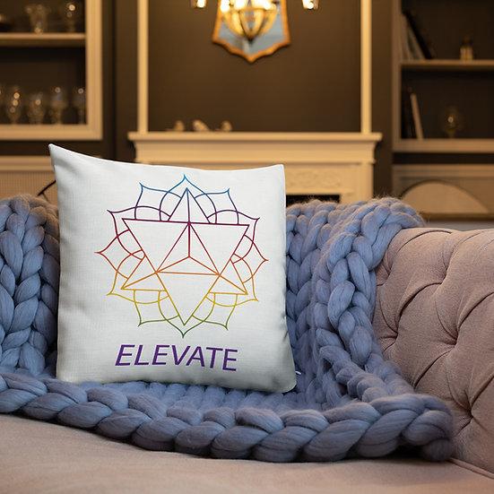 Elevate Consciousness Premium Pillow