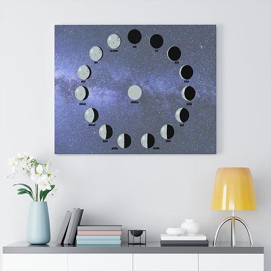 IFA Moon Cycle Meditation Canvas