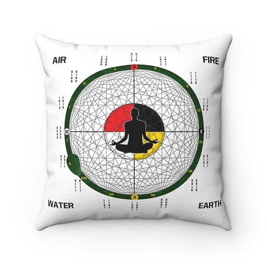 House of Expansion Square Pillow