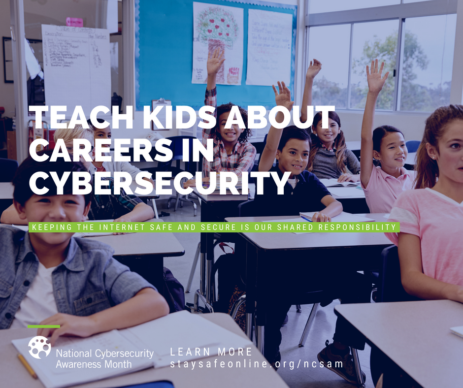 Teach Kids About Careers in Cybersecurity