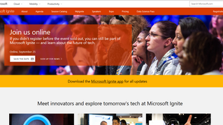 Microsoft Ignite Conference 2017