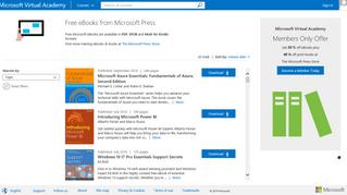 Free Microsoft Press eBooks