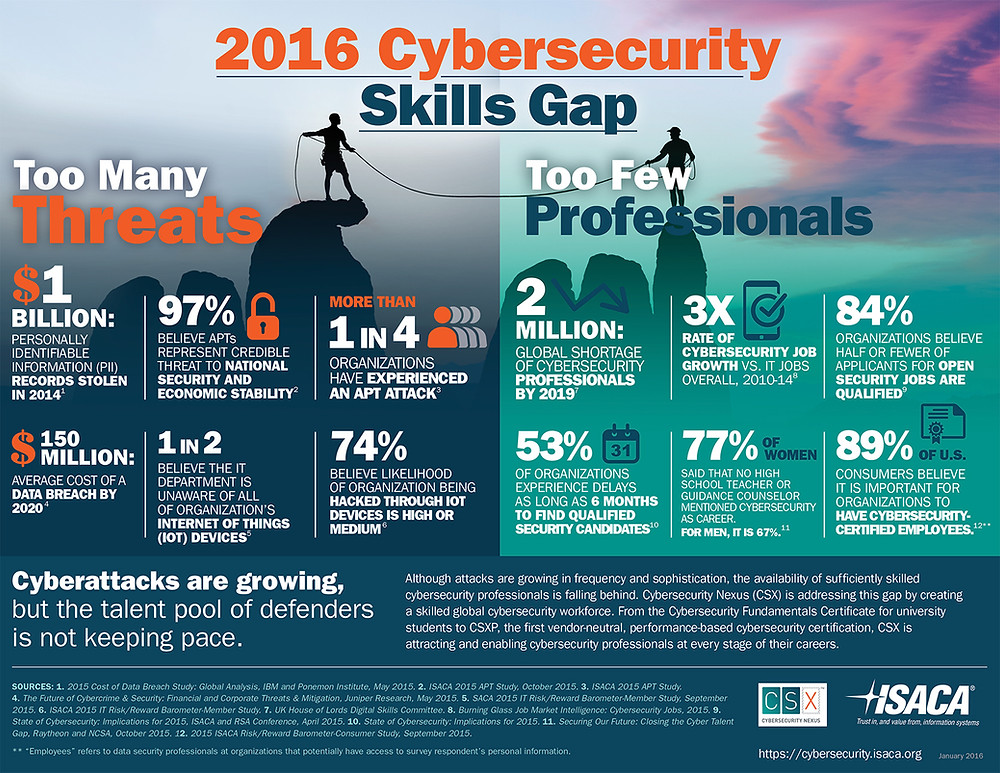 2016 Cybersecurity Skills Gap