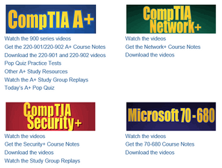 CompTIA Resources
