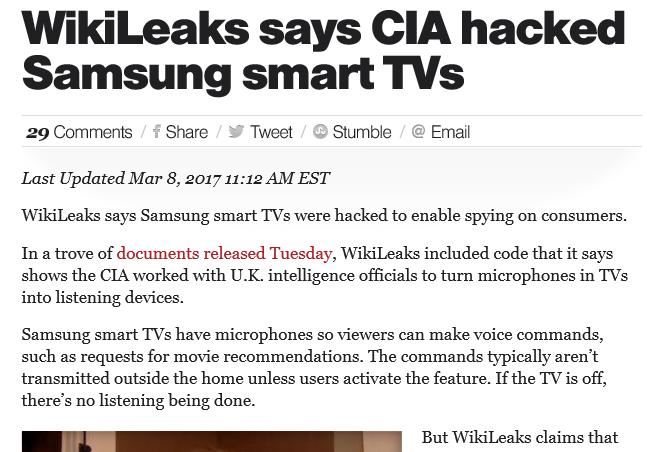 CIA headlines
