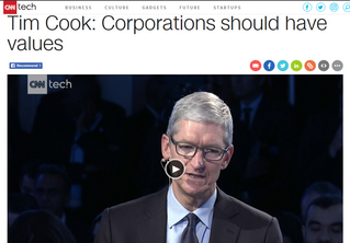 Tim Cook on Corporate Responsibility