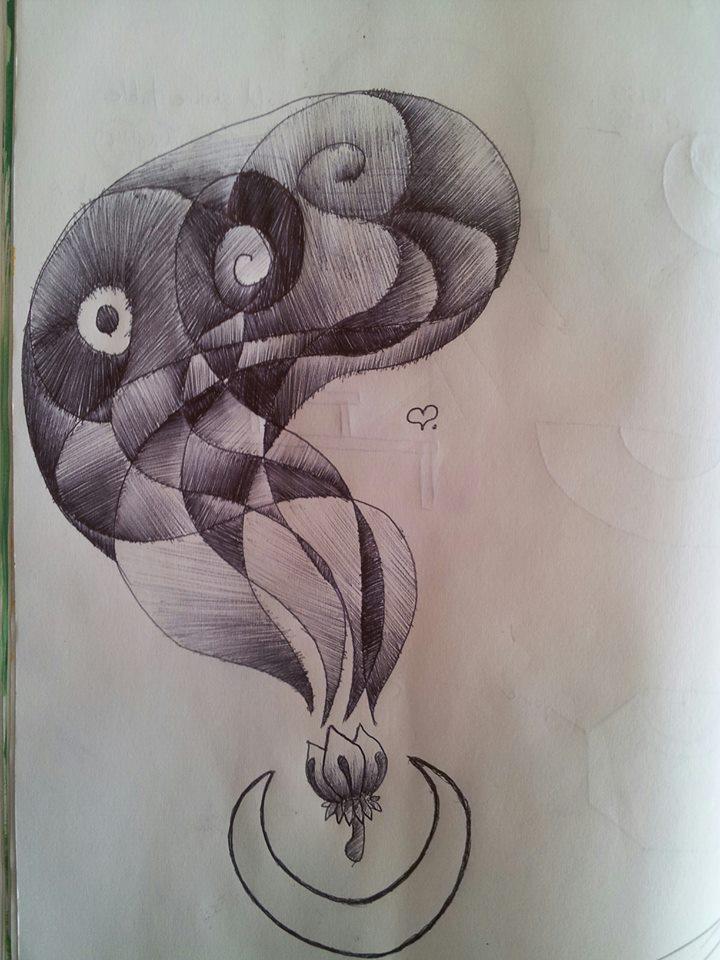 Sketchy Blossom