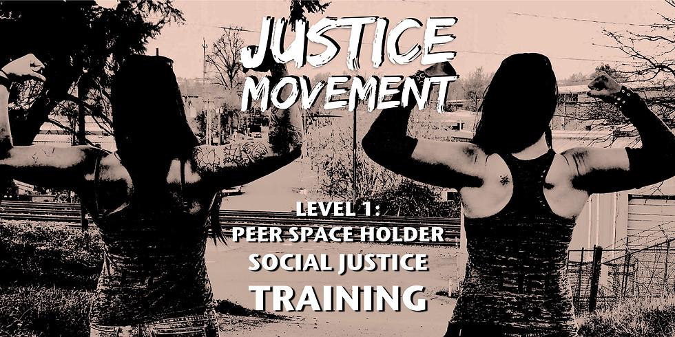 Peer Space Holder Training ONLINE