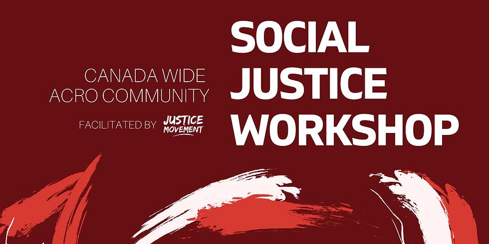 Canada Wide Acro Community Social Justice Workshop