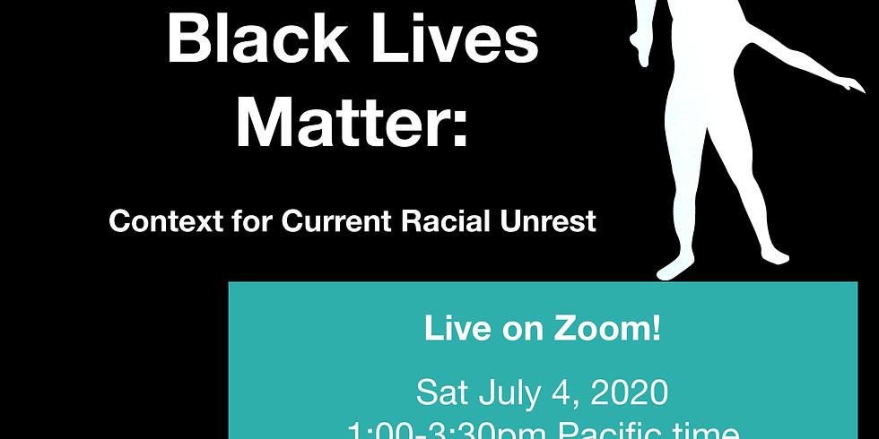 In Support of Black Lives Matter: