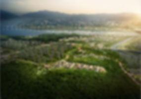 남양주 다산신도시 타운하우스 단독주택부지 분양 다산포디움 광역조감도 (2