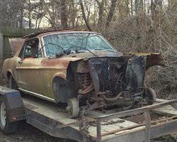 '68 Mustang Hood Shelf