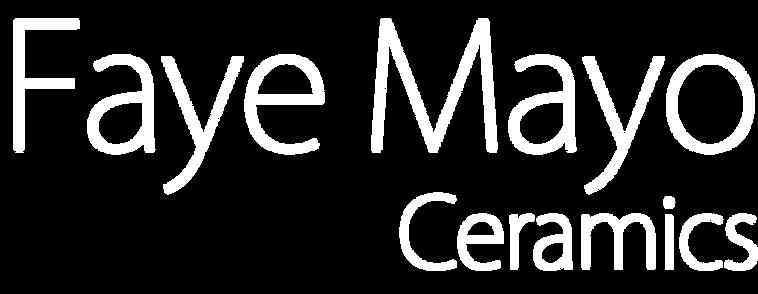 Faye Mayo - Ceramics - logo 2 lines - to