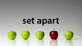 Are You Set Apart?