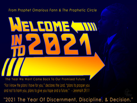 The Word OF The Lord For 2021