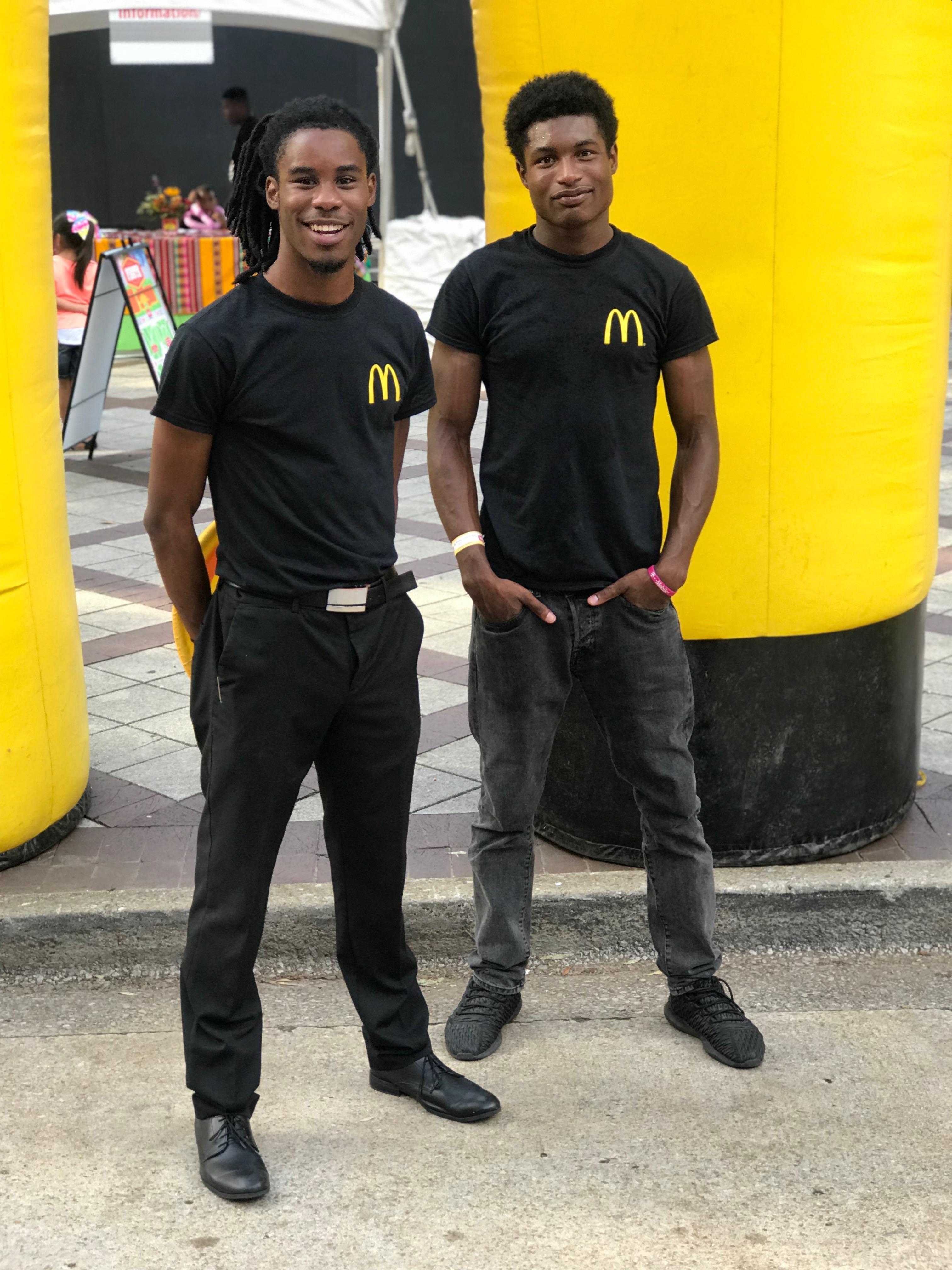 McDonald's Promotional Model