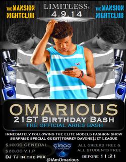 Omarious 21st Birthday Bash