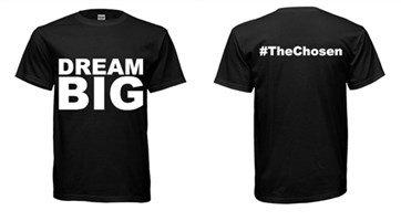 """DREAM BIG"" T-Shirt Black"