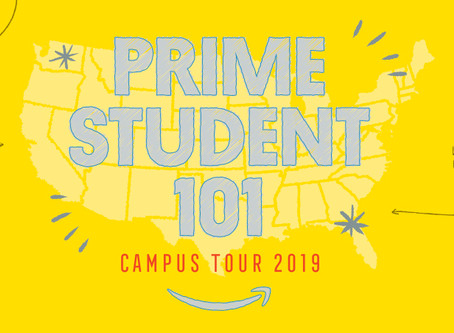 Amazon Prime Student Tour - Alabama (Recap)