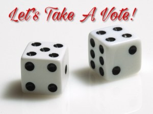 Let's Bet! i Mean Vote!