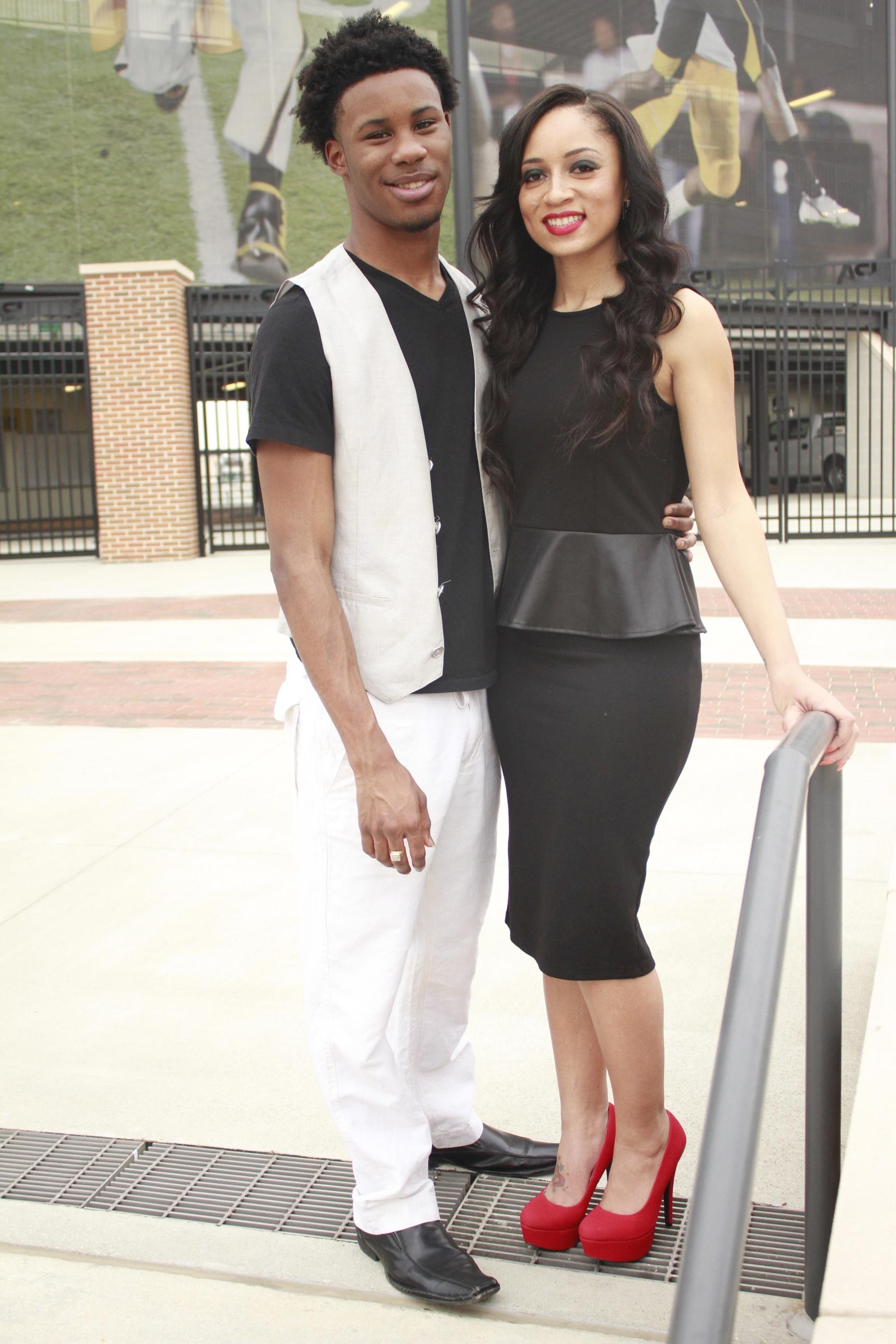 Omarious Fann & Jasmine Truitt