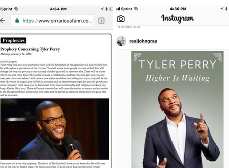 Tyler Perry's 2017 Book