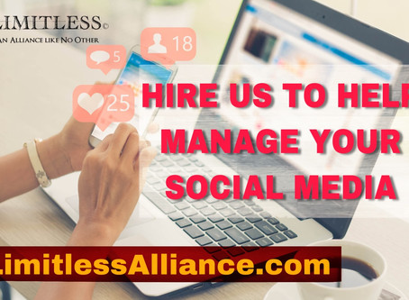 Need Help Managing your Social Media