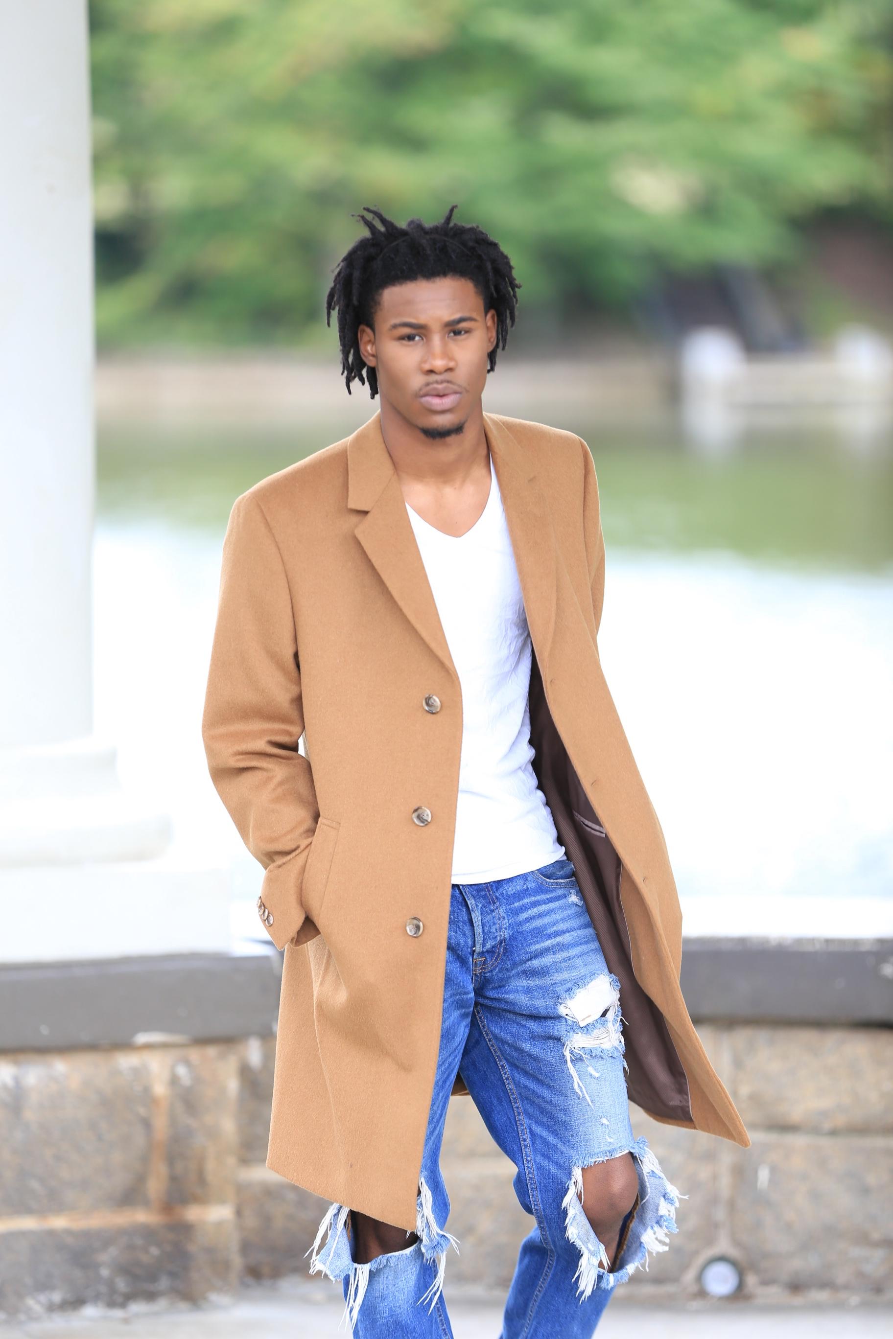 Limitless Male Model - Omarious Fann