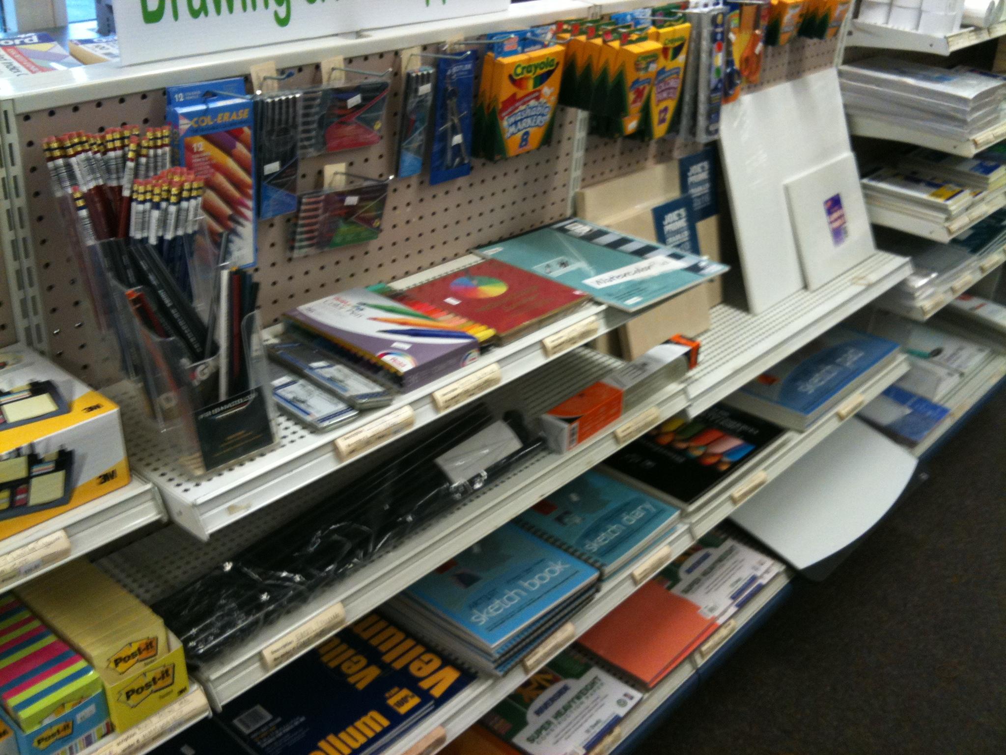 Markers & school supplies