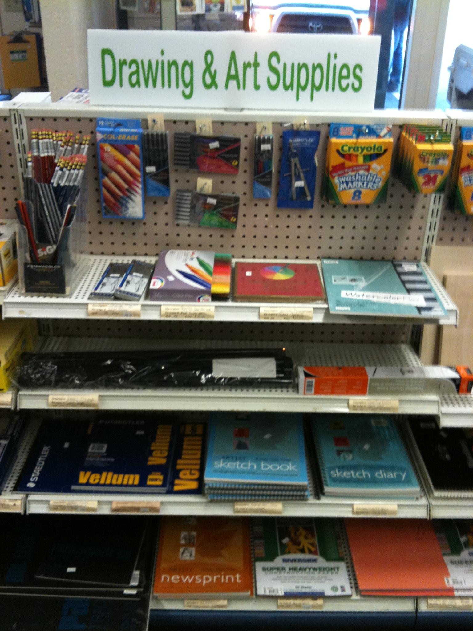 Drawing, school & art supplies