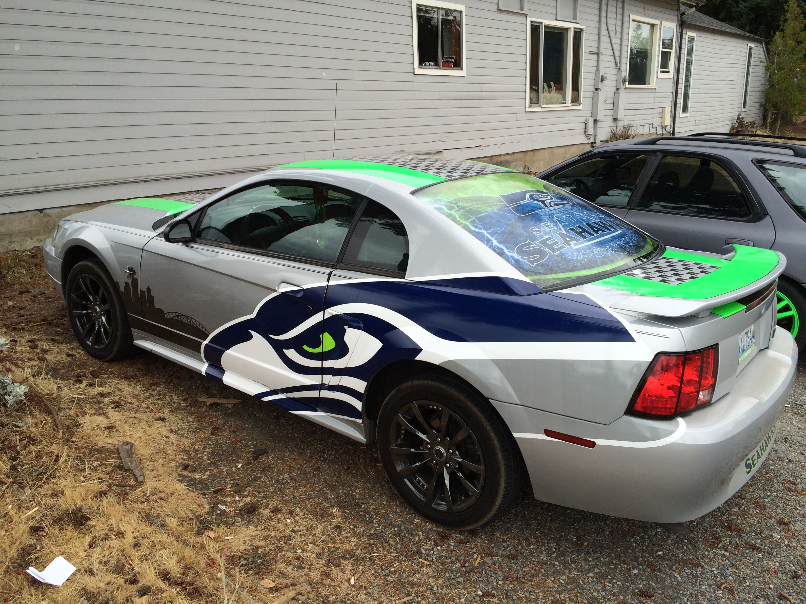 SeaHawk Mustang by SBC Graphics!