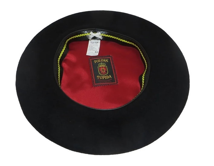 Tolosa Tupida Wool Beret with sizes