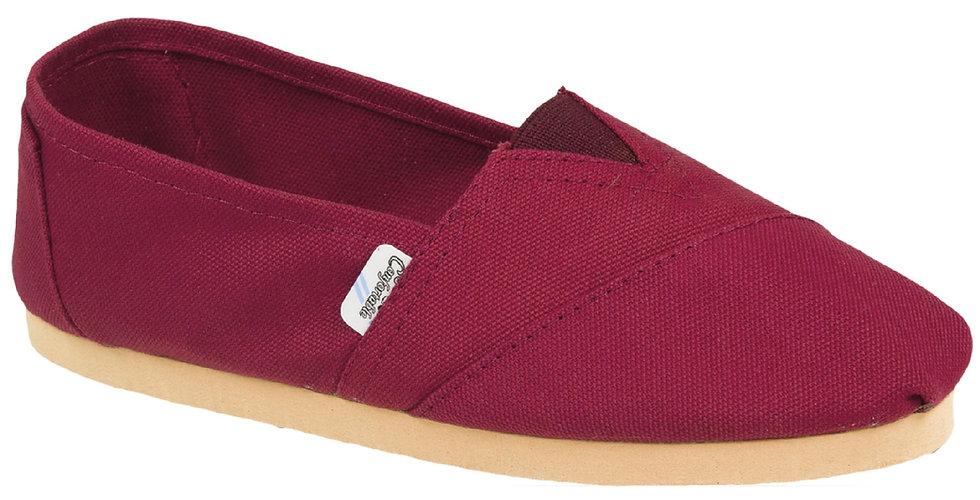 Red rubber sole alpargatas