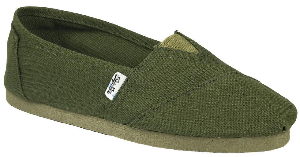 Green rubber sole alpargatas