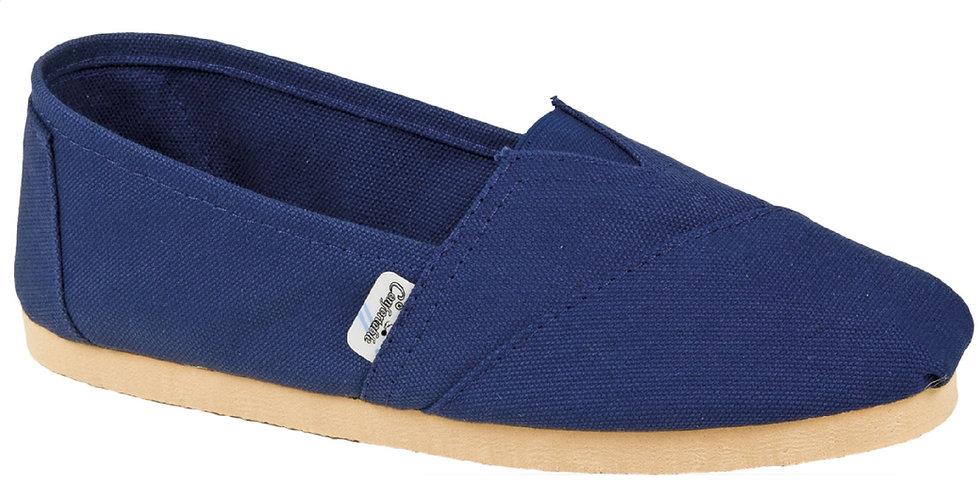 Blue rubber sole alpargatas
