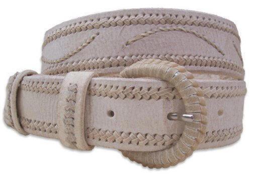 Raw Leather Belt