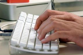 Using a computer keyboard